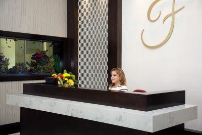 Front desk employee at Senior day care center Brooklyn New York