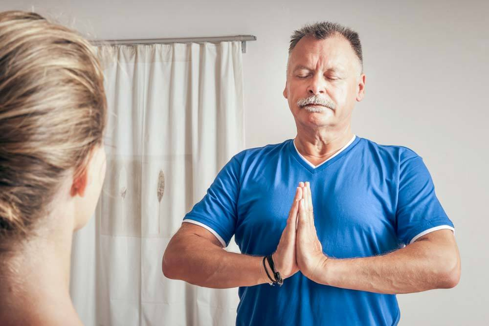 non-pharmacologic therapies yoga brooklyn senior adult day care