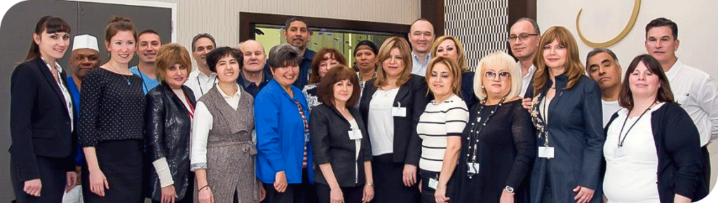 A group image of Fairview Adult Day Care Staff