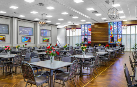 Fairview Adult Day Care Center dining area