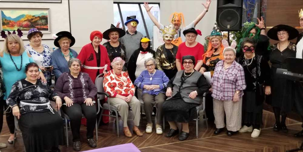 Halloween party for elderly entertainment