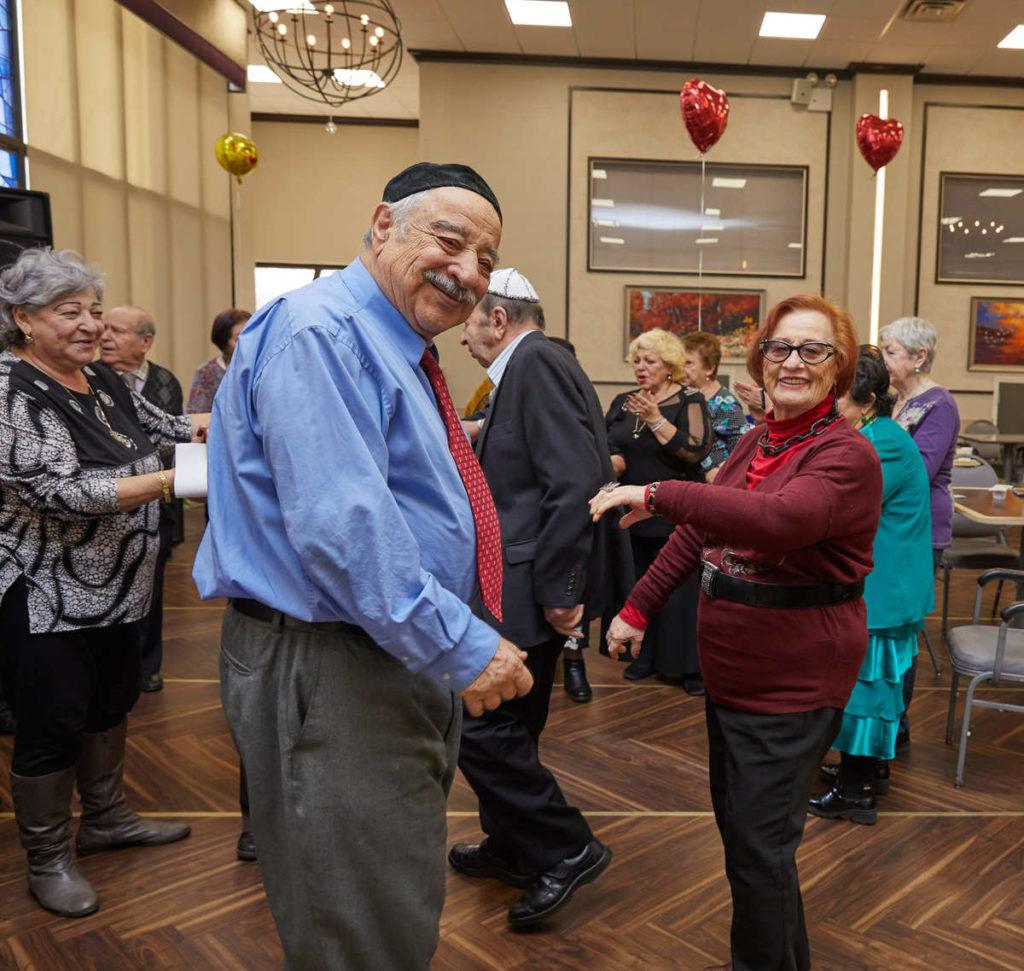 Elderly couple having recreation activities to slow aging