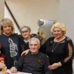 Jenny Davudzadealong with 3 other seniors smiling